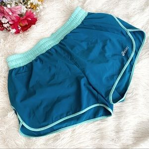 Asics Blue Lined/Shorts Workout/Running Shorts SzM